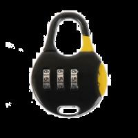 Замок навесной код PD-9029 черный