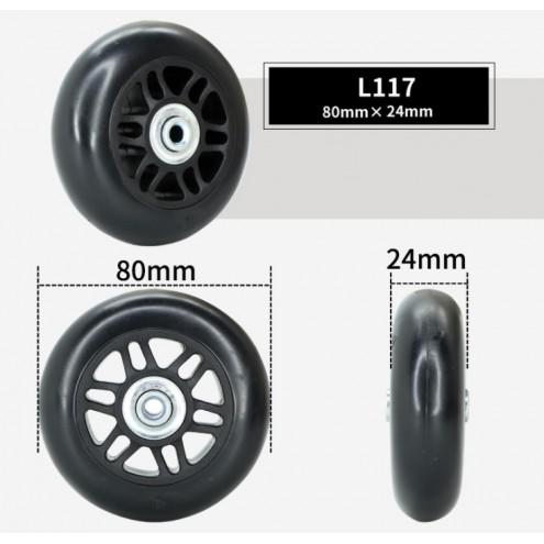 Колесо L117 80*24 мм