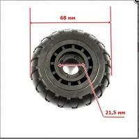 Колесо К-001 68мм(под подшипник 6/8*21,5 мм)