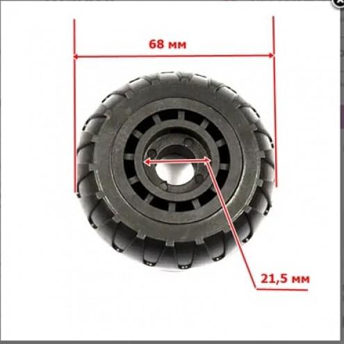 Арт.00423 Колесо К-001 68мм(под подшипник 6/8*21,5 мм)