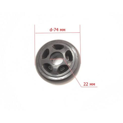 Колесо К-013(d-74мм под подшипник 6/8*21,5)