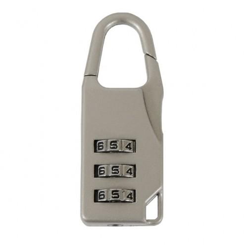 Арт.00168 Замок навесной код PD-9003 мат ник
