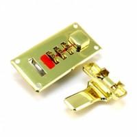 Арт.00174 Замок для чемодана PLG-1608(золото)