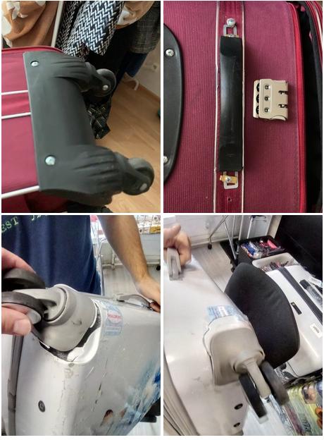 починить чемодан в мастерской