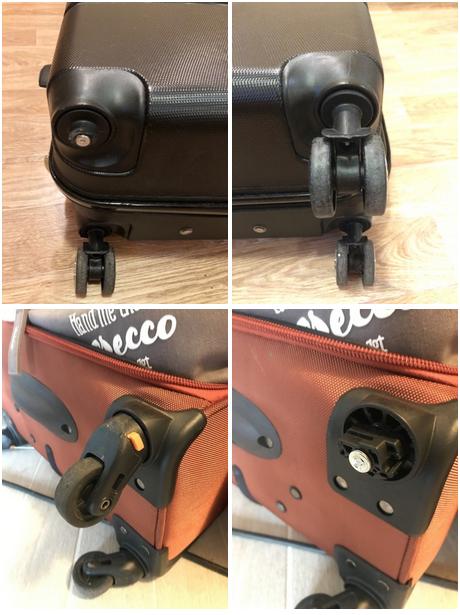 сломанный чемодан