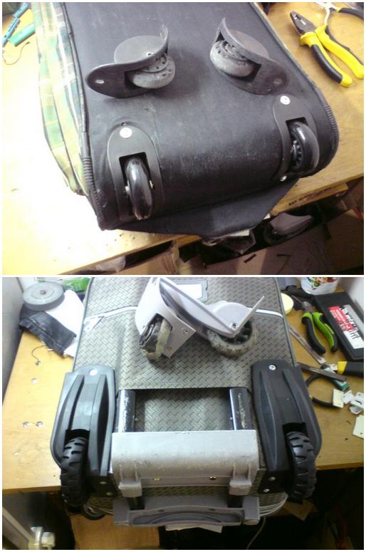 портфолио мастерской по ремонту чемоданов