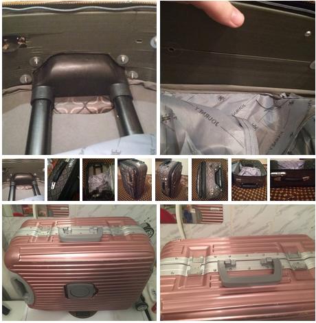 ремонт замков чемодана American Tourister