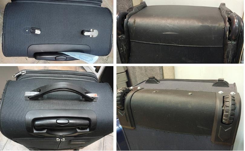 ремонт ручки чемодана Grott