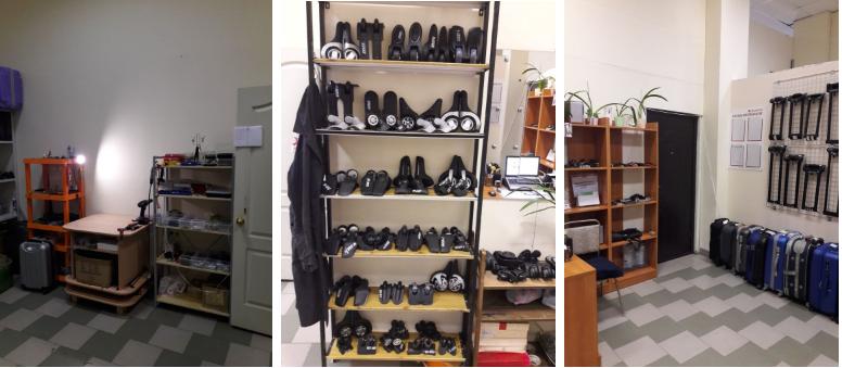 фото до и после ремонта чемодана Baudet